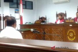 Mantan Kadisperindag Aceh divonis enam tahun penjara