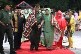 Pangdam Fachruddin pamitan dengan warga Gayo