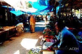Polisi patroli ke pasar rakyat Lhokseumawe