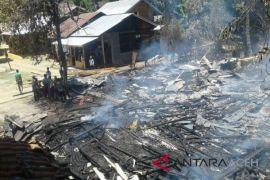 Tiga rumah tebakar di Aceh Tengah