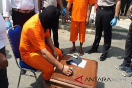 Polres Aceh Utara tangkap tiga pengedar sabu