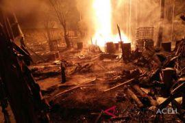 Pemilik sumur minyak terbakar belum diketahui