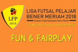Sembilan tim ikut turnamen Futsal  Bener Meriah