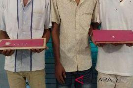 Polisi amankan tiga pemuda di Lhokseumawe