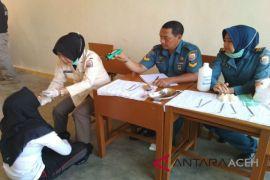 Lanal Lhokseumawe seleksi calon prajurit TNI AL