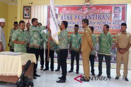 Pengurus Apdesi Aceh Utara dilantik