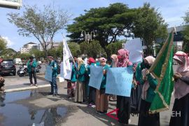 Mahasiswa Aceh tuntut pemerintah atasi pengangguran
