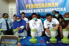 BNNP Aceh musnahkan 23 kilogram sabu-sabu
