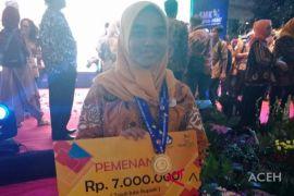 Siswi Aceh raih medali emas di LKS