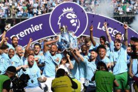Huddersfield rebut poin pada perayaan juara Man City
