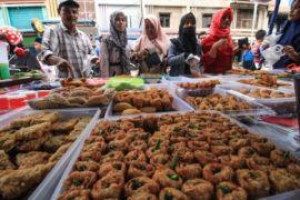 Pasar takjil di Aceh