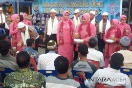 Pelanggar lalin di Aceh Utara diberi tausiah