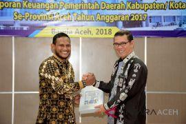 Aceh Timur kembali raih opini WTP