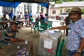 Warga Aceh Selatan antusias gunakan hak pilih