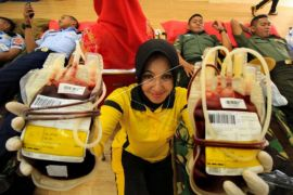 MIFA adakan donor darah di Aceh Barat