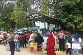Polisi sambangi tempat wisata di Lhokseumawe