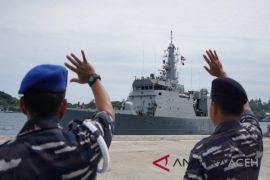 Kapal perang India akhiri kunjungan di Sabang