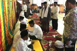 348 calon haji Aceh Utara dipeusijuek