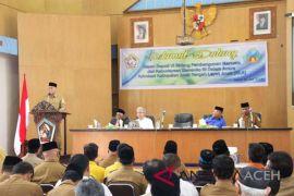 Bupati Aceh Tengah: takengon menuju kota layak anak