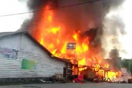 Sembilan rumah ludes terbakar di Bener Meriah