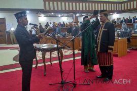 DPRA paripurnakan PAW anggota fraksi Partai Demokrat