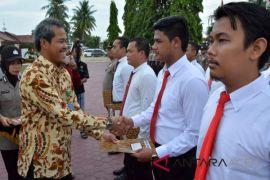 Ungkap kasus satwa polisi Aceh terima penghargaan