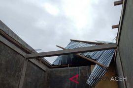 Sembilan Rumah rusak di Bener Meriah akibat angin kencang