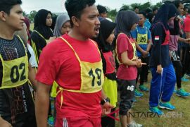 Atlet PORA Aceh Besar tes fisik