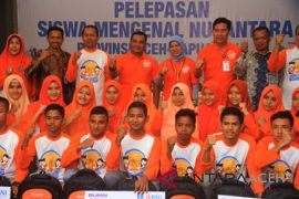 26 pelajar Aceh ikut program mengenal Nusantara