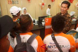 BUMN Hadir - peserta SMN dibekali produk perbankan