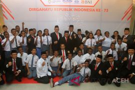 BUMN Hadir - BNI-Surveyor gelar  rangkaian acara di Aceh