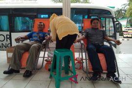 PMI Langsa kumpulkan 524 kantong darah selama Juli 2018