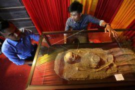 Aceh Tengah pamerkan kerangka manusia purba