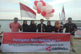 Pemuda Langsa merajut persatuan perdamaian Aceh