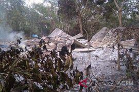 Dua rumah terbakar di Bener Meriah