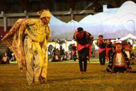Tari Sakral Sining tampil di PKA ke-7