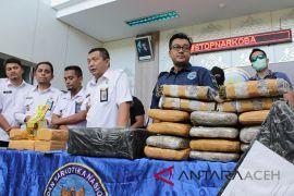 BNN Aceh gagalkan peredaran sabu-ganja