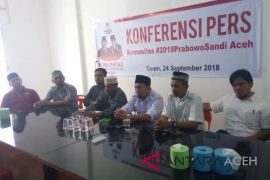 Komunitas #2019PrabowoSandi akan dideklarasikan di Aceh