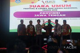 Jawa Tengah juara umum FLS2N