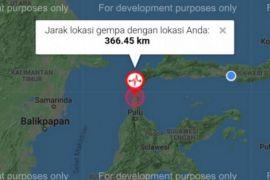 Warga di Aceh cemas gempa guncang Sulawesi Tengah