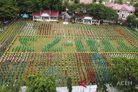 14 ribu peserta tari Gemu Famire pecahkan rekor MURI