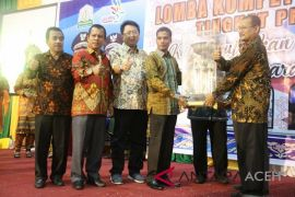 Banda Aceh juara umum Lomba Kompetensi Siswa ke-27 SMK
