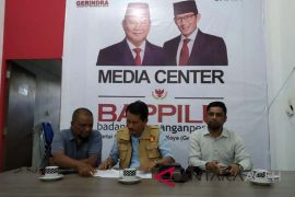 Bappilu Gerindra Aceh target kemenangan 75 persen