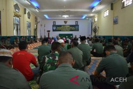 Kodim Aceh Utara doa bersama untuk korban bencana Sulteng