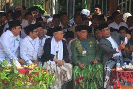 Jokowi cinta kiai dan santri, kata Ma'ruf Amin