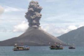 Gunung anak Krakatau alami 336 kegempalan letusan