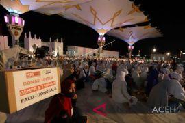 Masyarakat Aceh larut dalam doa untuk Sulteng