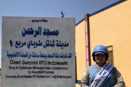 Dewi Suryani, penjaga perdamaian bangun masjid di Sudan