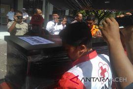 Jenazah korban Lion Air tiba di Aceh