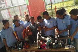 Warga binaan LP Meulaboh dapat pelatihan pemberdayaan ekonomi